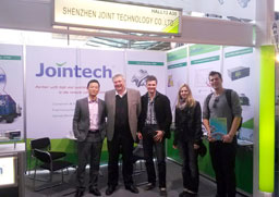 Booth in CEBIT