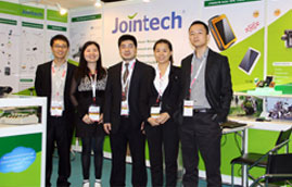 Jointech's Charm Showcasing in 2013 Global Sources China Sourcing Fair in Hongkong